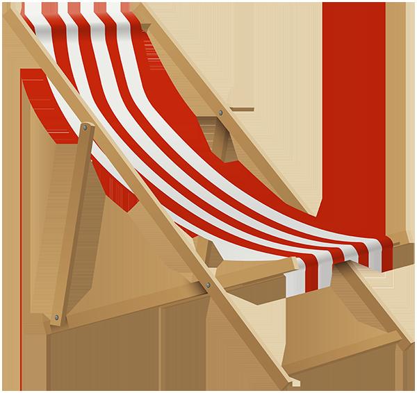 Red Beach Chair Png Clipart In 2020 Deck Chairs Beach Chairs Chair
