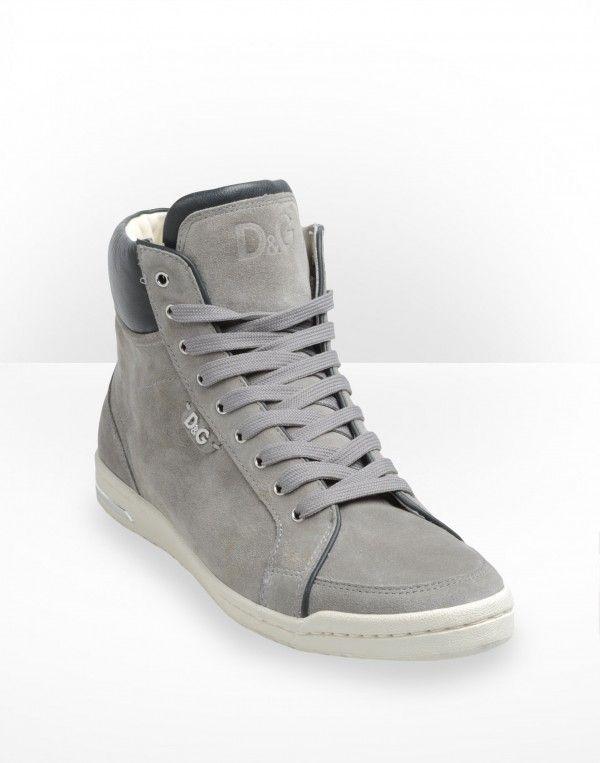 best website 22921 d02e6 D G womens grey high-top sneakers 1