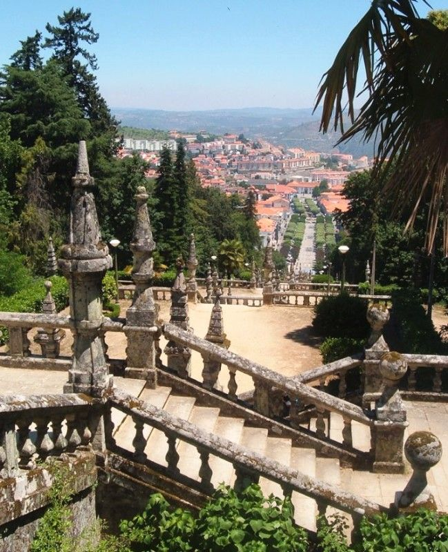 Lamego, Portugal ... I attended a Boarding School in Lamego for 9 months when I was in 2nd grade :)
