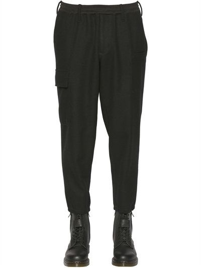 cargo pocket trousers - Black Yohji Yamamoto Discount Store Outlet Store Cheap Price Sale Best Sale Clearance Order o7jo4WkgCJ