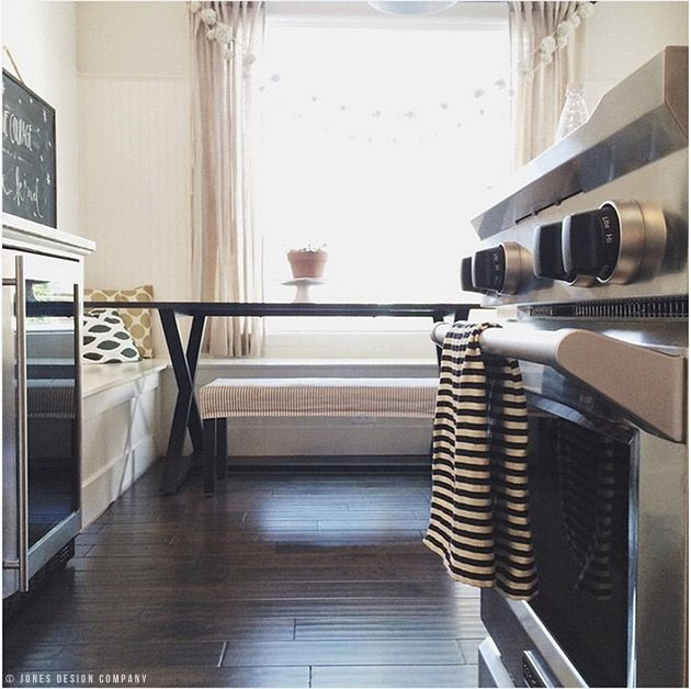 Black And White Striped Dish Towels Napkins And A Giveaway