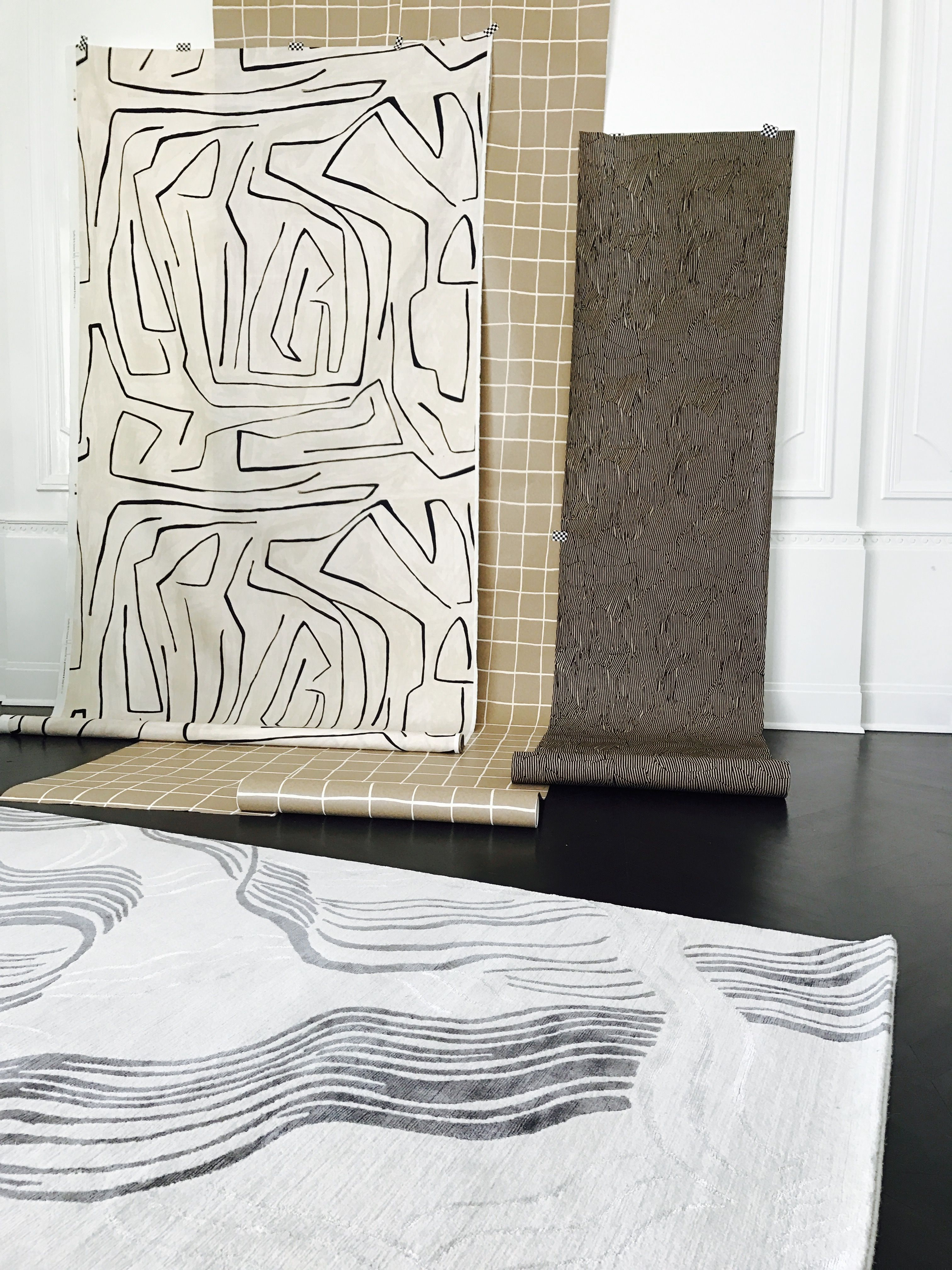 Kelly Wearstler Wake Rug The Intricacy Of Line Work Feels Sophisticated And Elegant In Any E