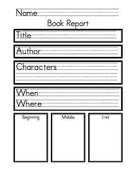 My first item on teacherspayteachers.com! Kindergarten Book ...