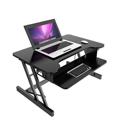 Sturdy Standing Desk Adjustable Height Wide Sit Foldable Desk With