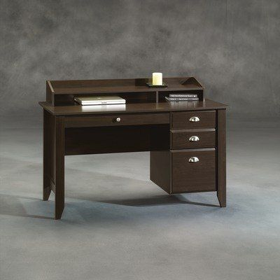 Shoal Creek Desk Jamocha Wood Desk Home Stylish Desk