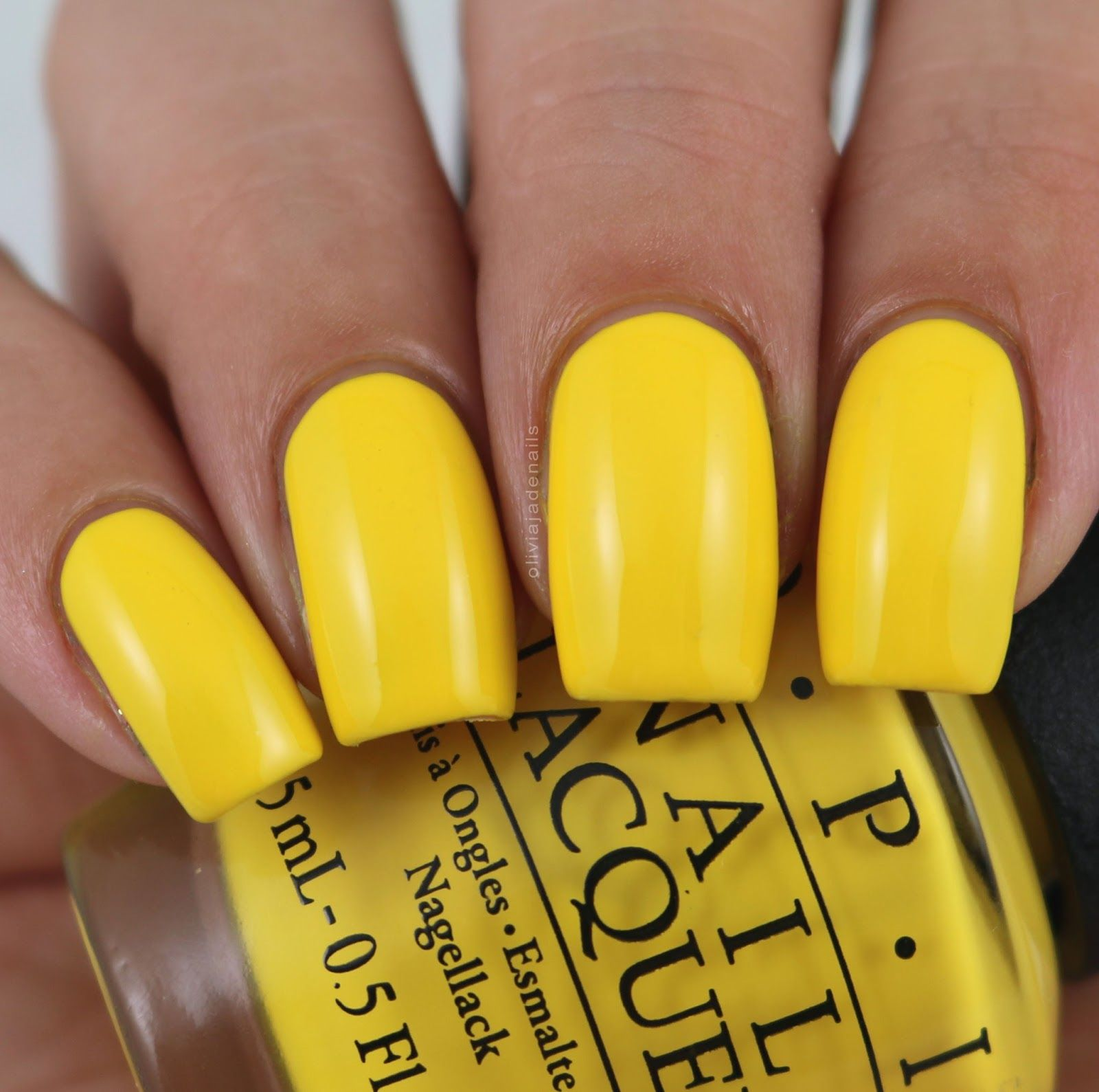 OPI Exotic Birds Do Not Tweet swatched by Olivia Jade Nails | OPI ...
