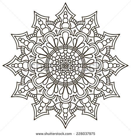 ԑ̮̑♢̮̑ɜ~Mandala para Colorear~ԑ̮̑♢̮̑ɜ mandalas Pinterest