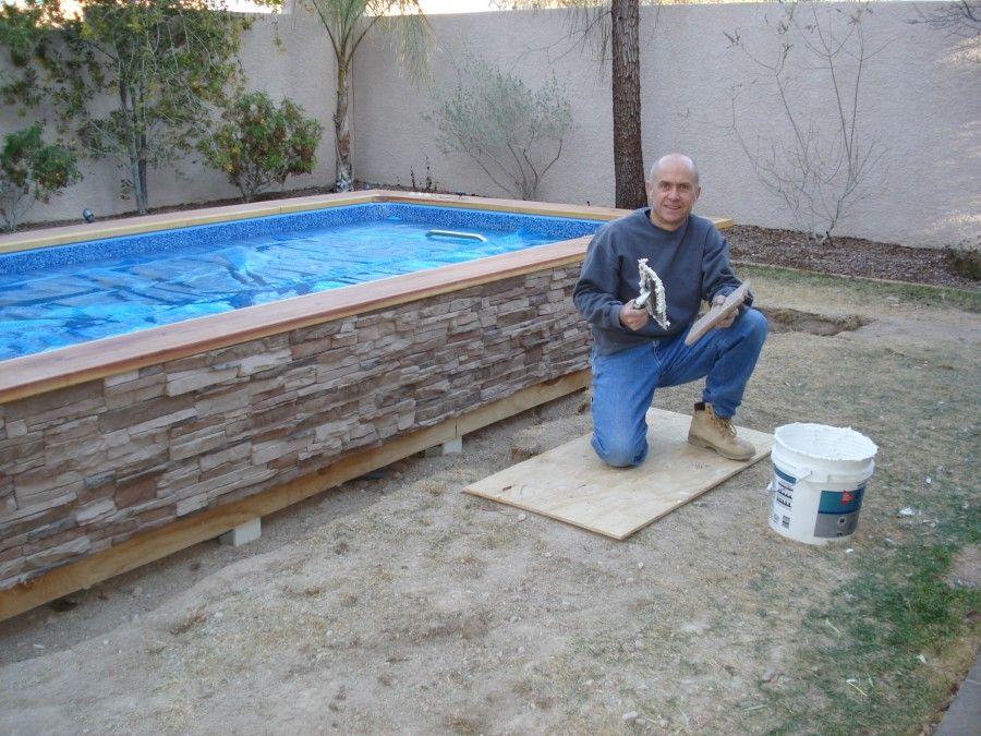 Diy install guide sentry swimming pools homemade