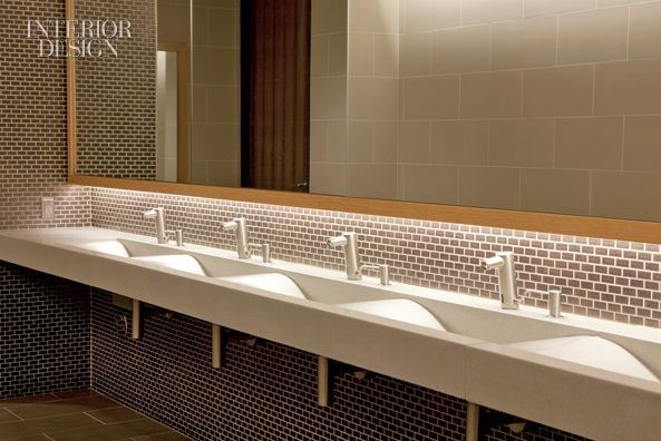 Public toilet lavatory with counter shelf google search - Commercial interior design codes ...