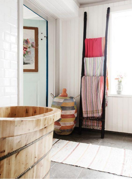 badkamer #landelijk #rustiek #hout | Landelijke/rustieke badkamer ...