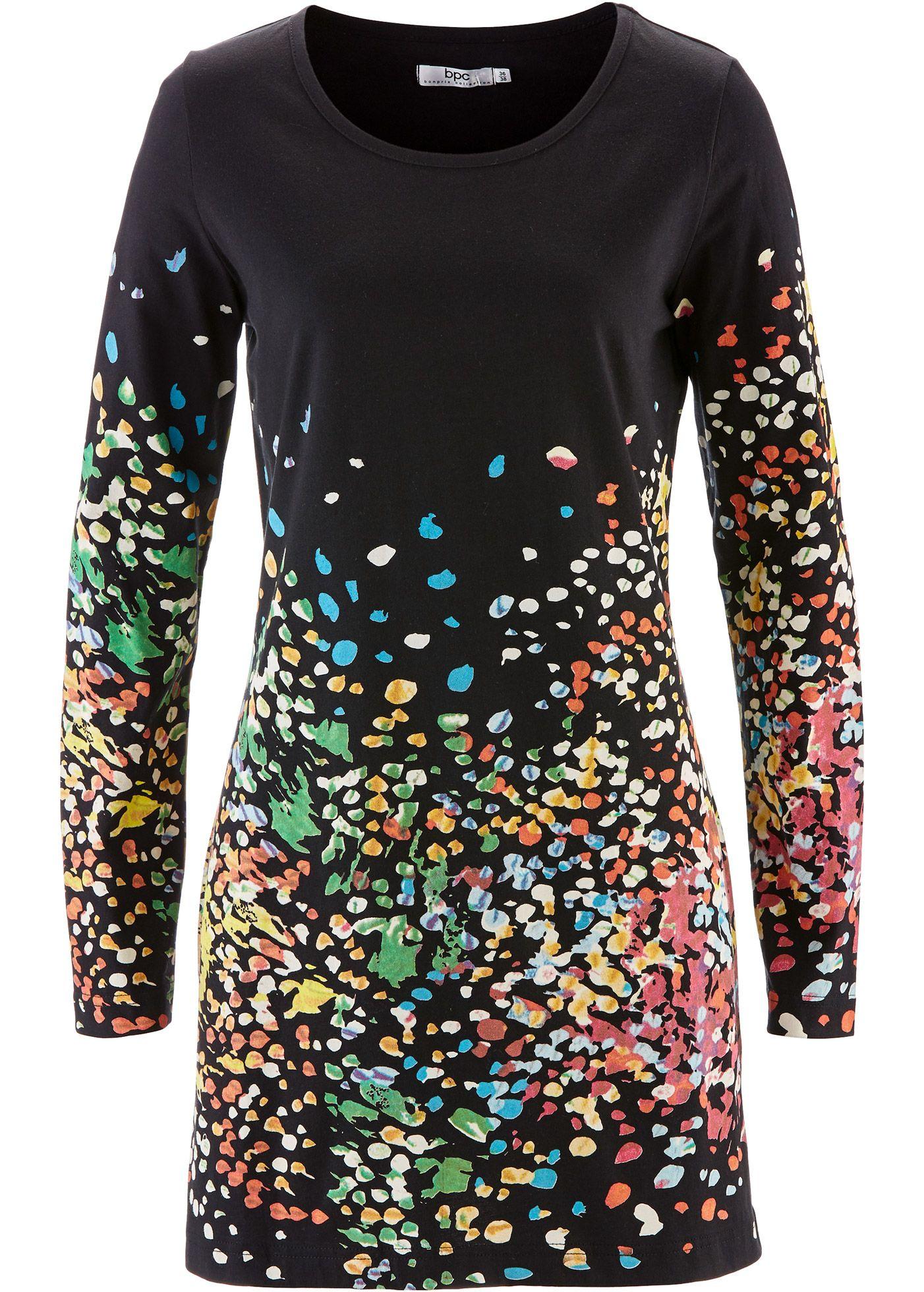 d6e82ba532b Tuniek | Fashion ideas Mode ideeen | Zwart, Prints