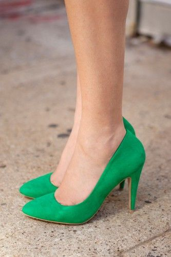 1fa1224b8682 Tuesday Shoesday  Pretty in Green