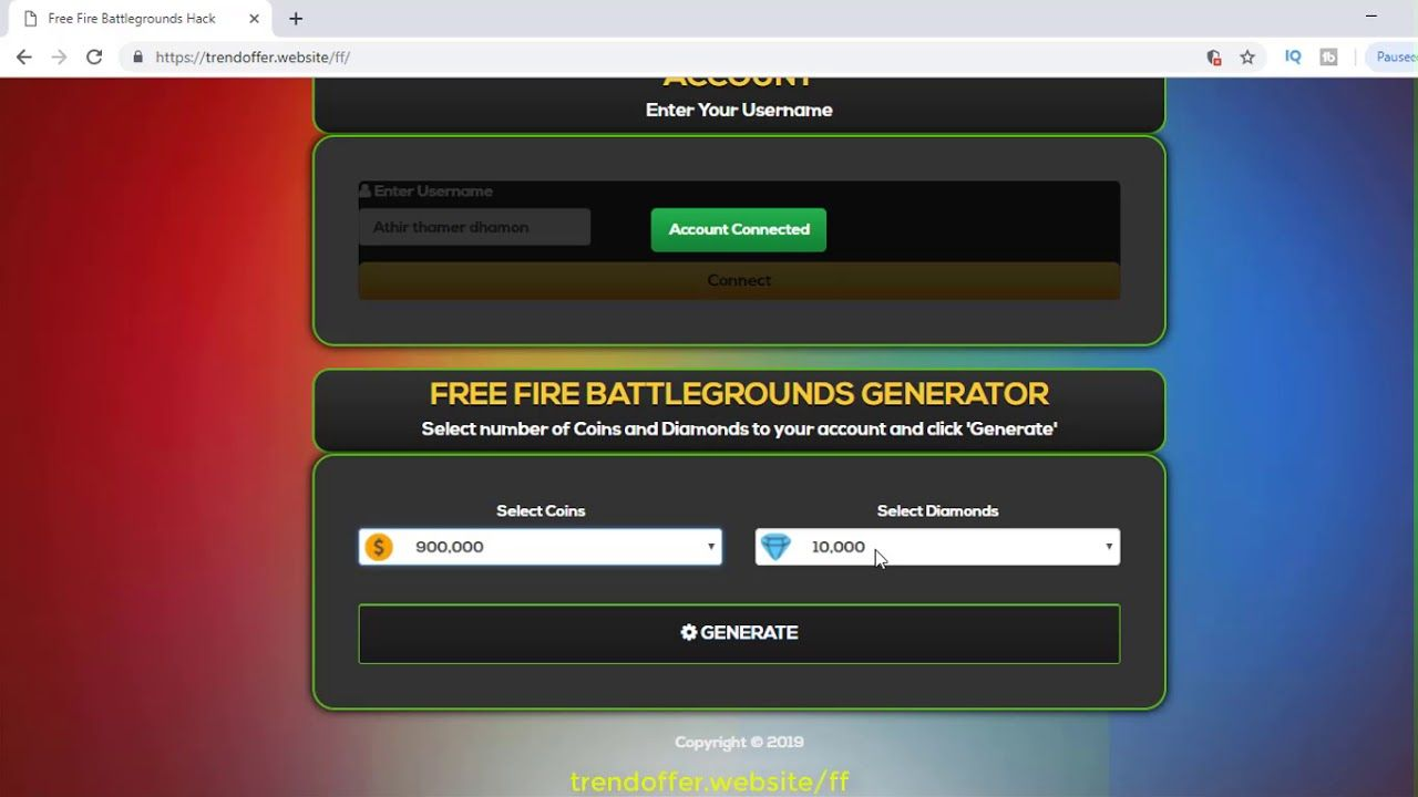 Free fire hack - How to get free ganera free fire hack