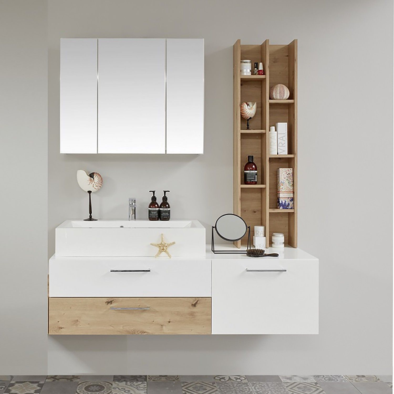 Badezimmerset One V 4 Teilig Lounge Tisch Waschtisch Set Badezimmer Set