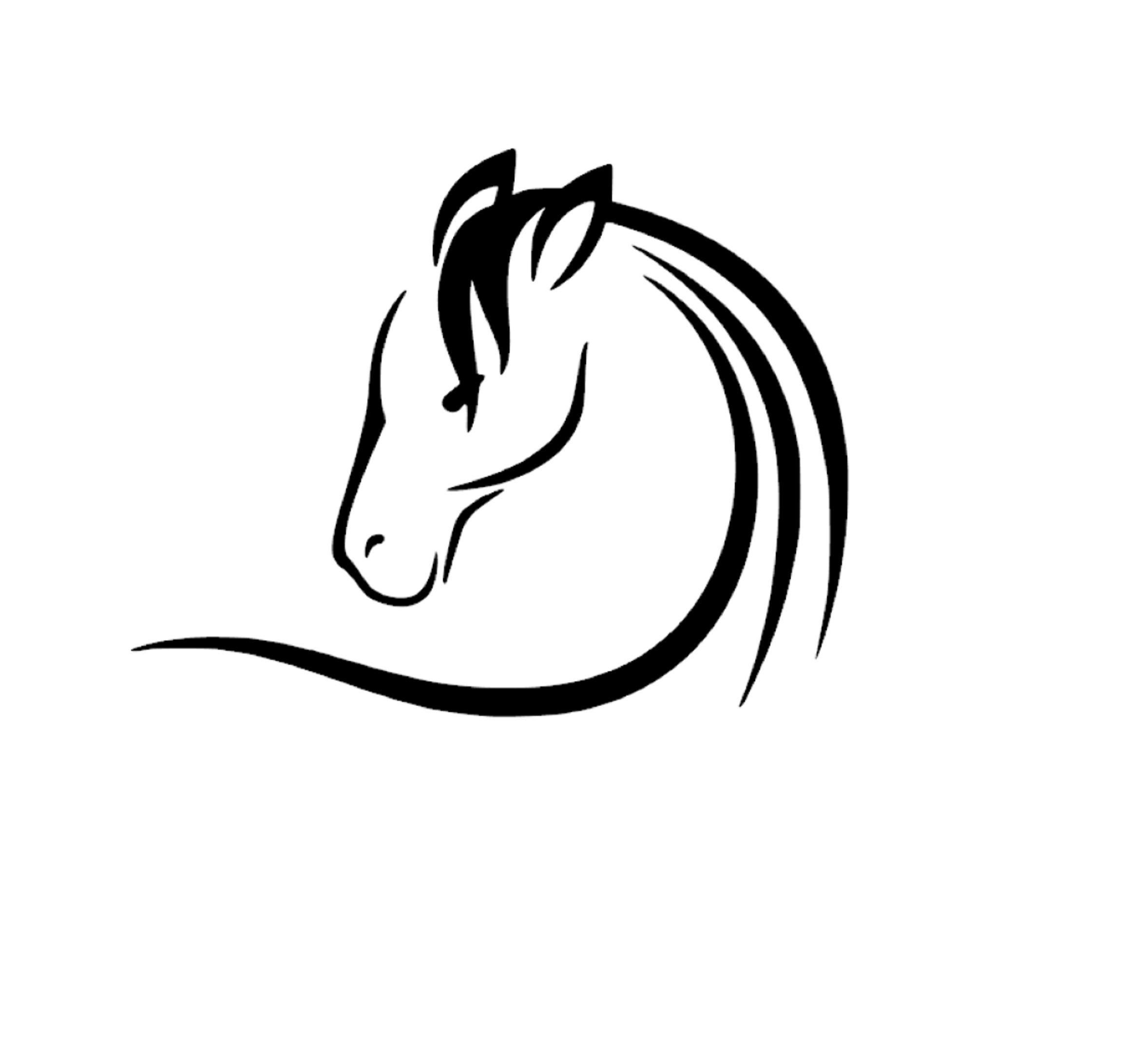 Horse Head Decal Sticker Horse Decal For Horse Float Ute Etsy Gifts For Horse Lovers Horse Head Horse Rescue [ 2164 x 2356 Pixel ]