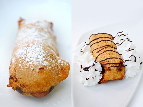Deep-Fried Snickers Bar!