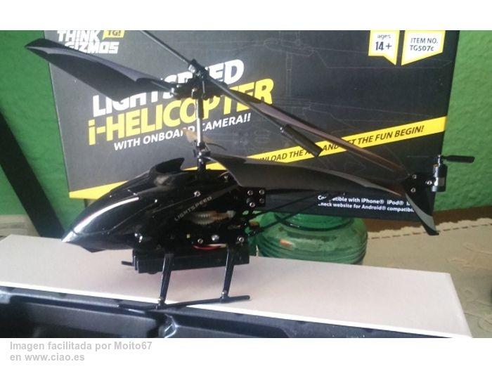 Think Gizmos iHelicopter con Cámara
