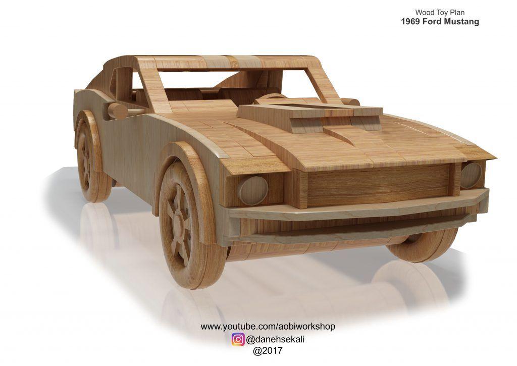 1969 Ford Mustang Plan Set Carritos De Madera Madera De Madera