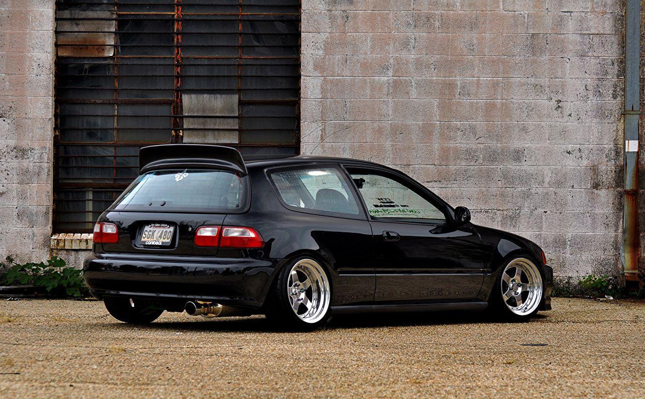 Honda Civic Eg6 Wallpapers Wallpapersafari Civic Eg Honda Civic Black Honda Civic