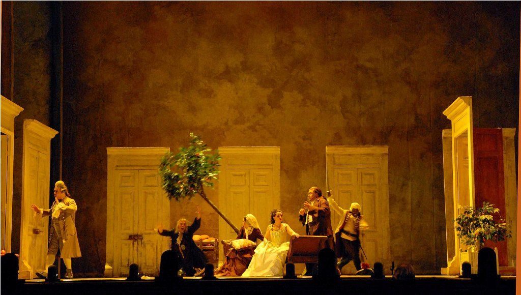 2008 Festspielhaus Baden Baden - Germania, regia: Barlett Sher, scenografia: Michael Yeargan