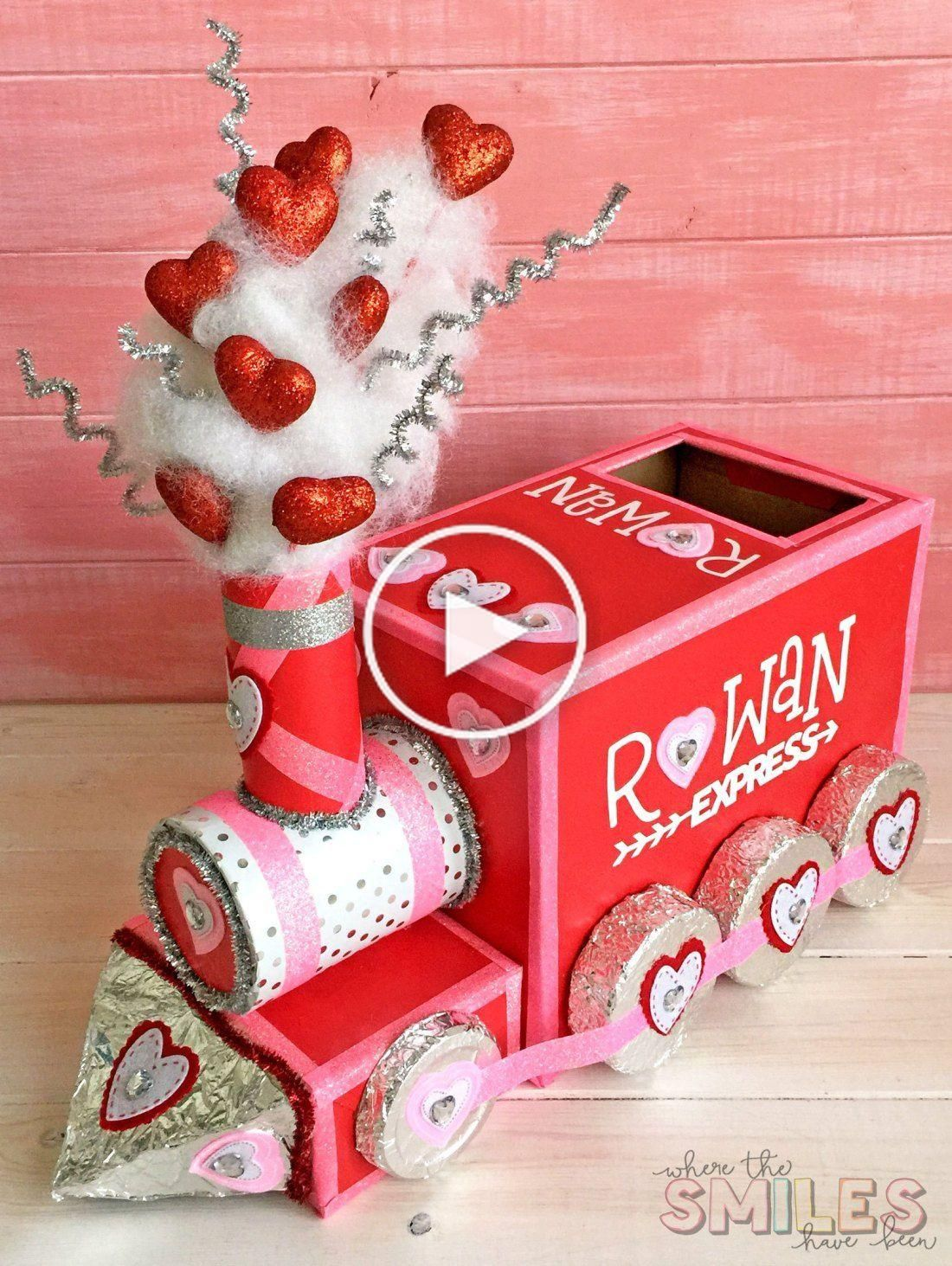 DIY Valentine Box: All Aboard the Love Train!