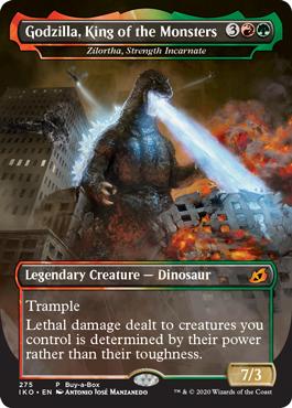 Godzilla And Friends Will Wreak Havoc In Magic The Gathering Nerdist The Gathering Magic The Gathering Cards Magic The Gathering