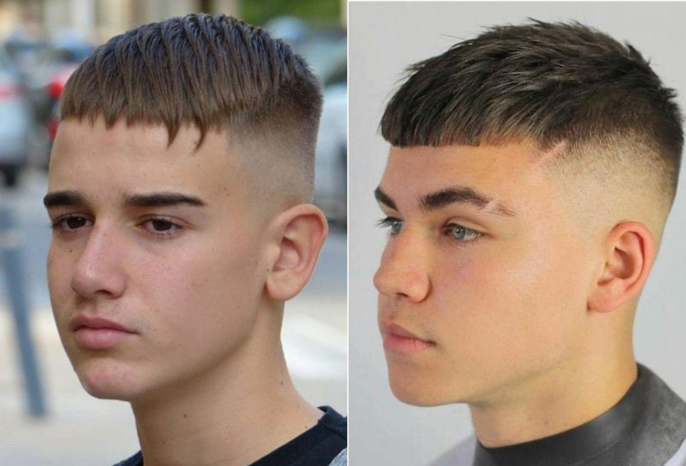 Mix Aus Fringe Und Casar Haarschnitt Fur Kleine Und Grosse Jungs Jungs Frisuren Frisuren Kinder Frisuren