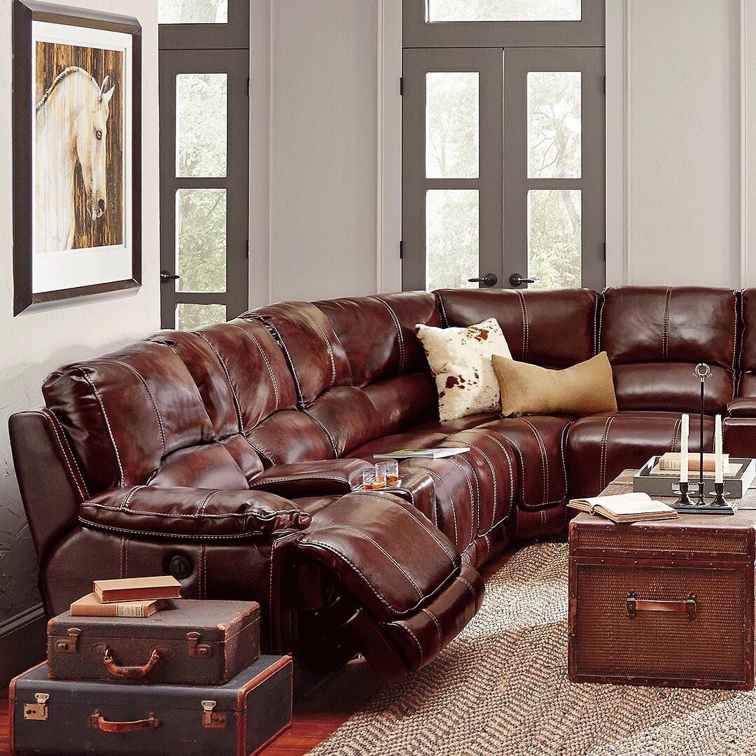 40+ Leather living room furniture rooms to go ideas