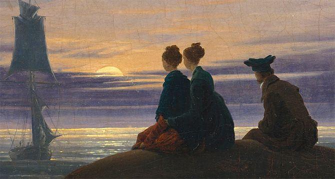 Le romantisme   Peinture paysage, Caspar david friedrich, Romantisme