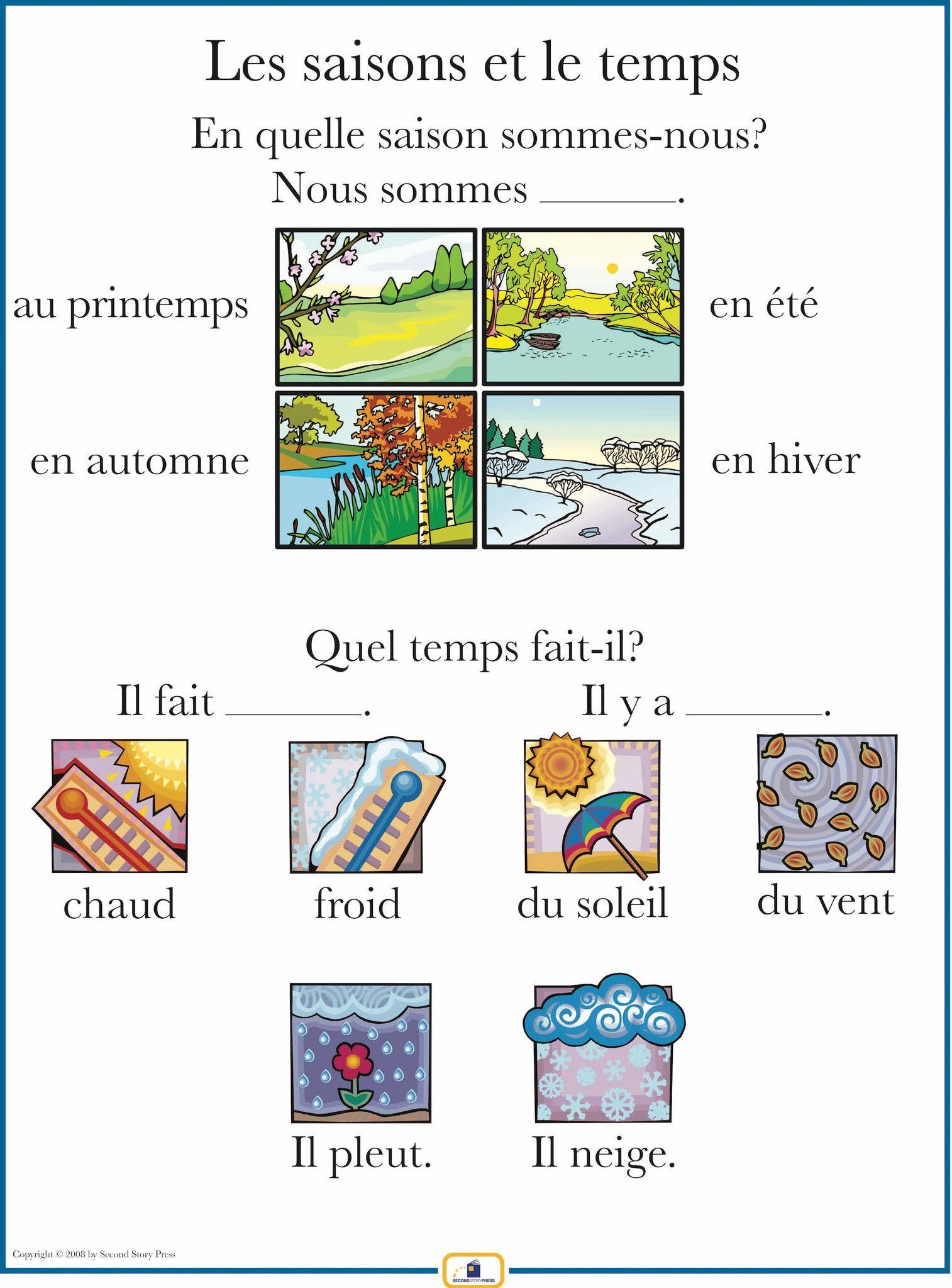 french set of 4 posters with everyday phrases pinterest french