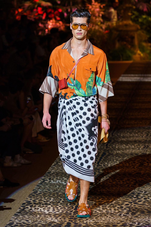 Dolce & Gabbana Spring 2020 Menswear Fashion Show