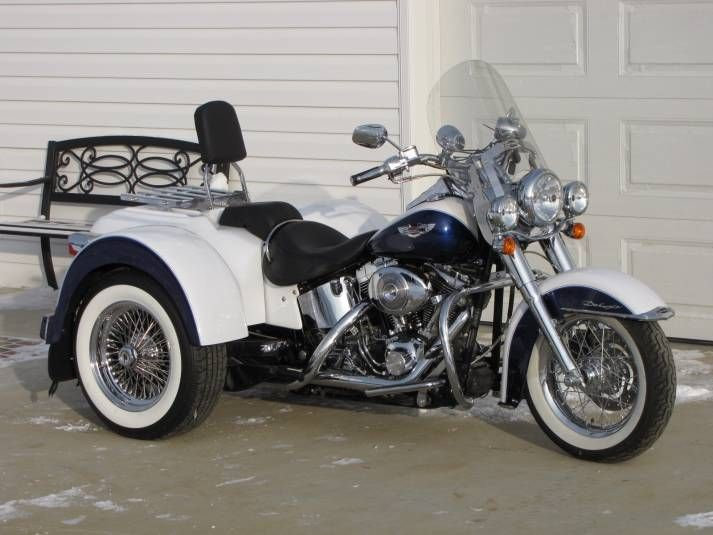 Harley Trikes For Sale >> Pictures Harley Davidson Softail With Led Lights Harley