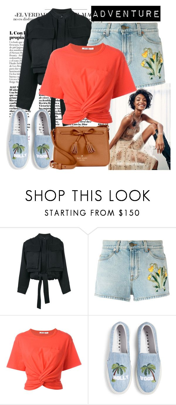 """""""Adventure"""" by raincheck ❤ liked on Polyvore featuring Dunn, Tom Ford, Gucci, T By Alexander Wang and Kate Spade"""