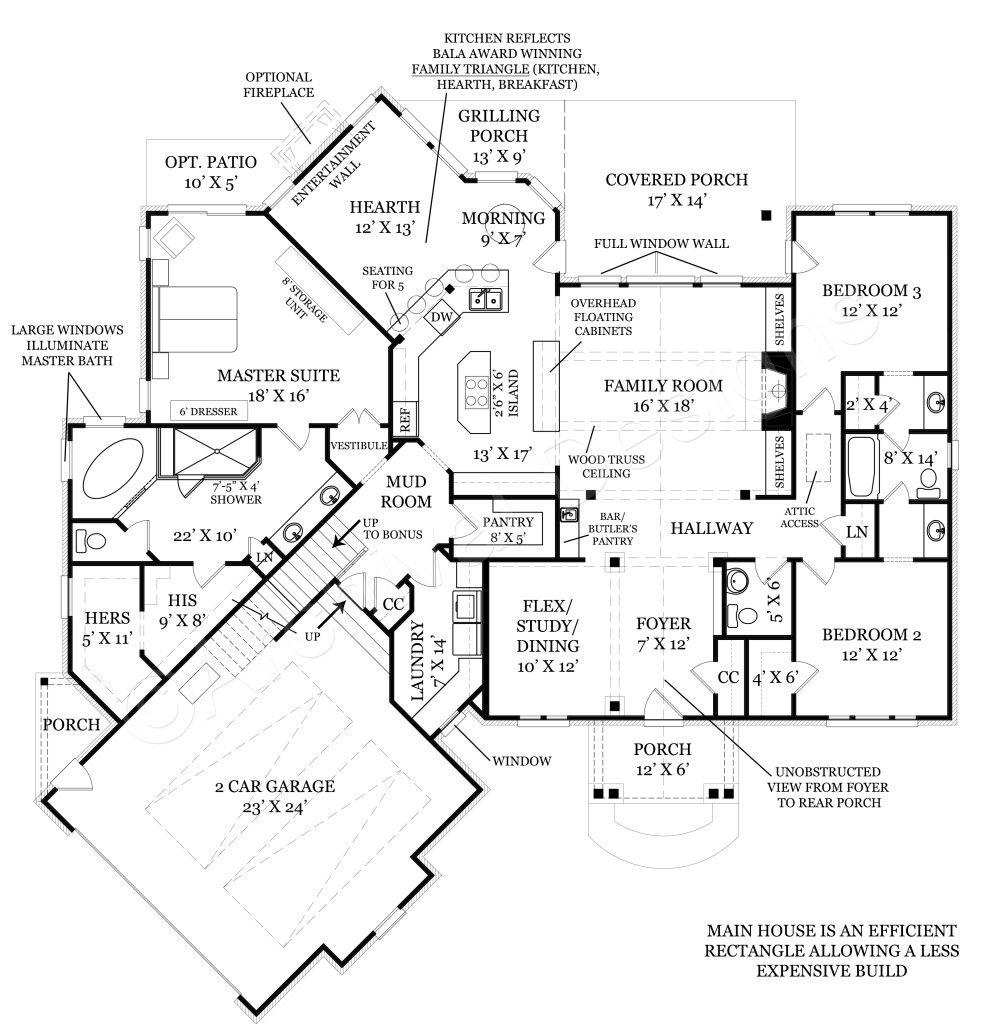 Da Diva   Small Cottage Design   Empty Nester House Plans   Diva ...