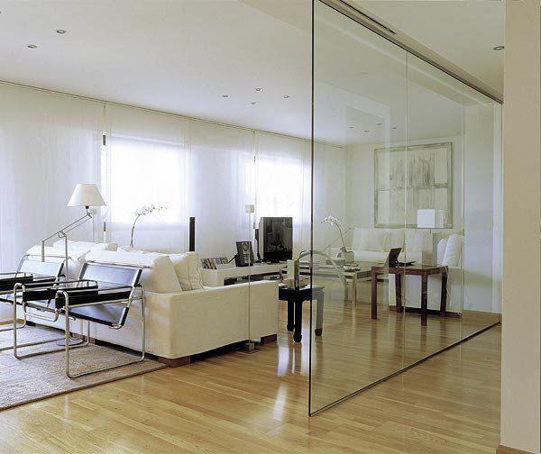 Ideas para aprovechar el pasillo living room dining - Tabiques separadores de ambientes ...