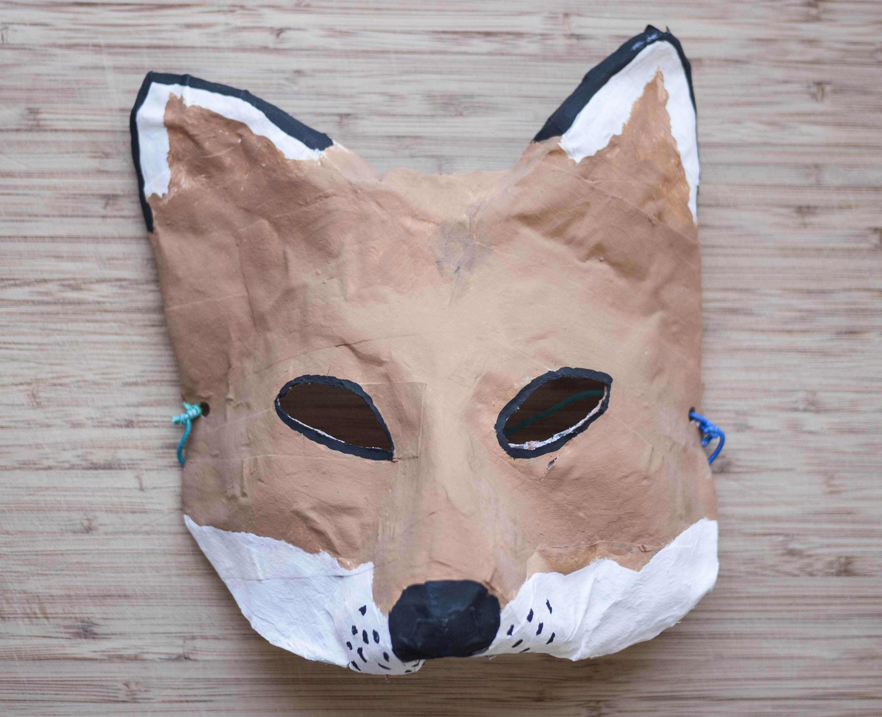 Paper Mache Masks Easy Kid Crafts Projects