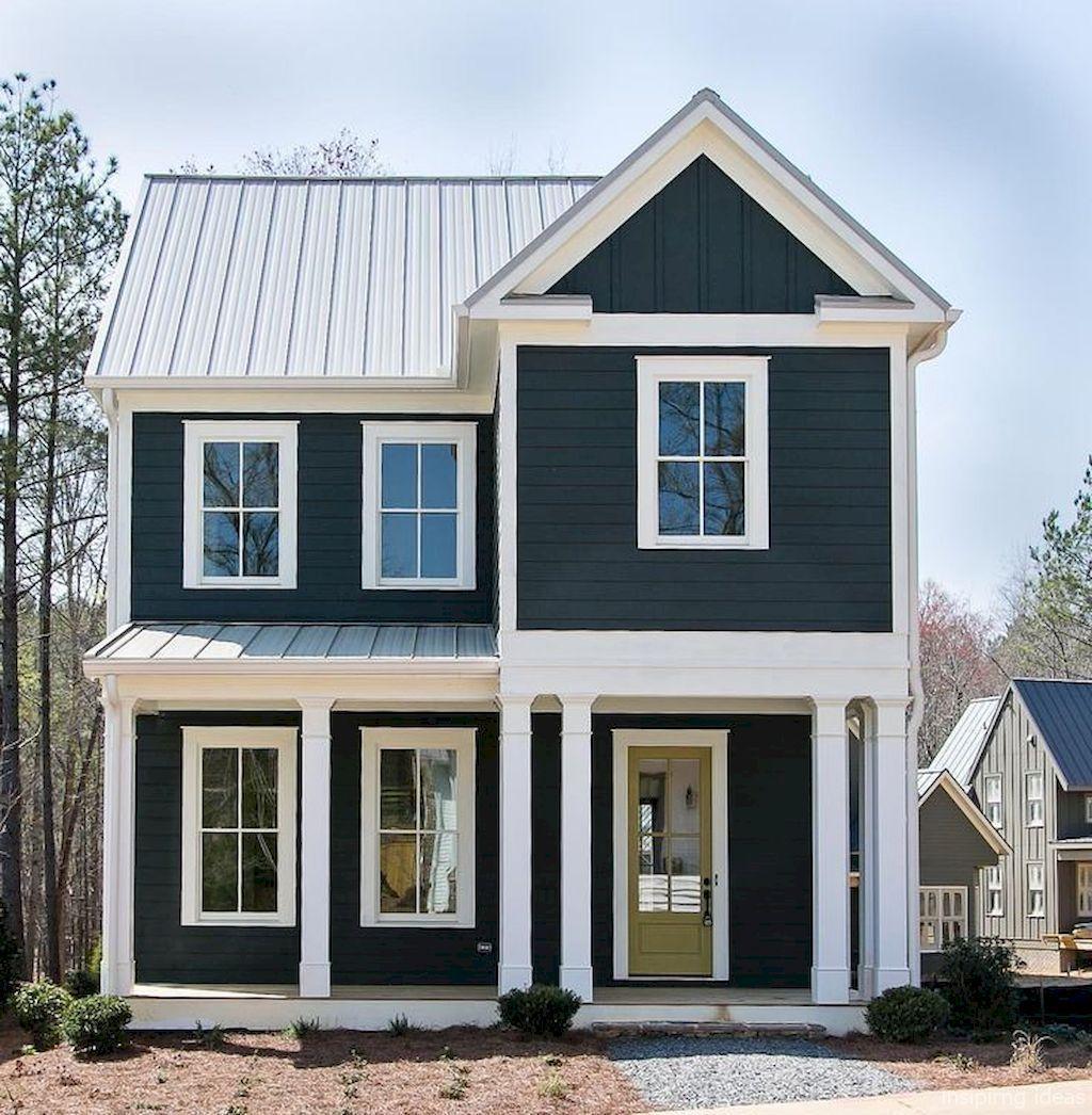 Home Design Ideas Exterior Photos: Awesome 99 Modern Farmhouse Exterior Color Schemes Ideas