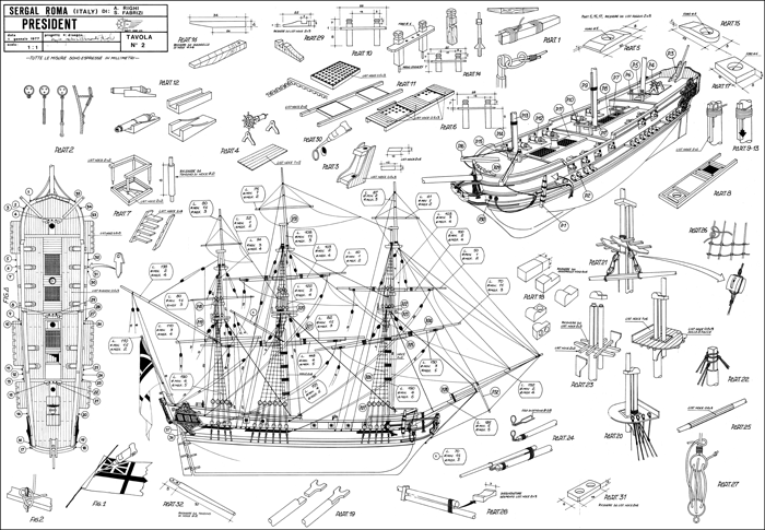Via 16th 17th and 18th century ship blueprints art for Pianificatore di blueprint gratuito