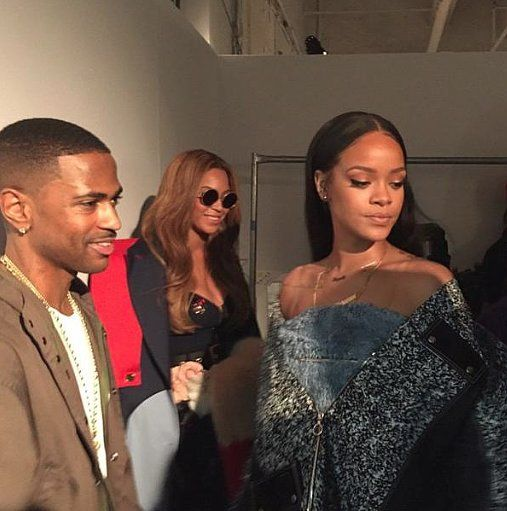 Kanye West S Nyfw Show Was A Real Star Studded Spectacle Rihanna Celebrities Rihanna Style
