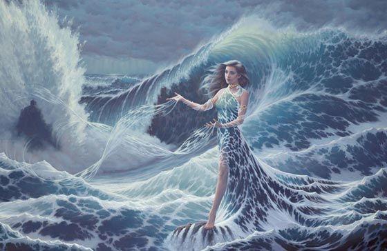 "Song of Deep Water"" by Earl Bowser | Art//Enchanting Women ..."