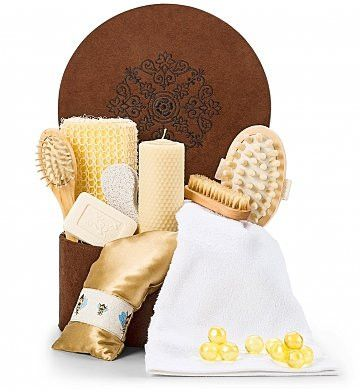 Visit GourmetCarePackages.biz Sweet Rejuvenation Spa Set