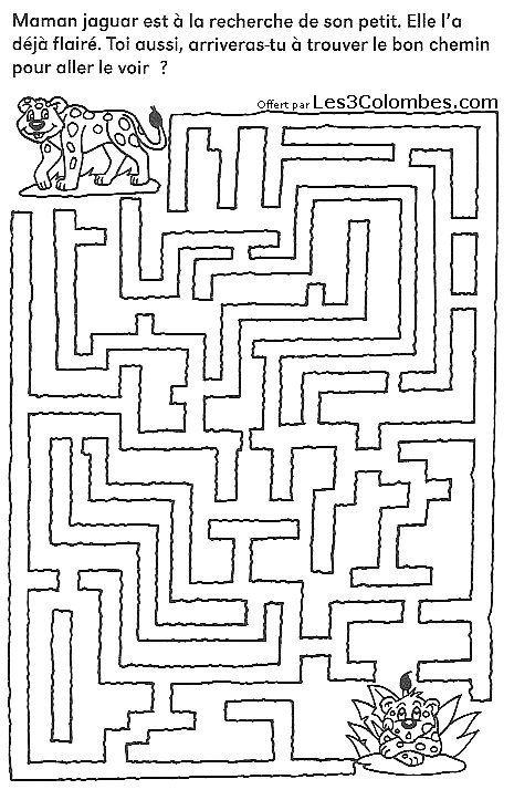 Labyrinthe imprimer 14 taakjes pinterest labyrinthe - Jeux gratuit de dessin ...