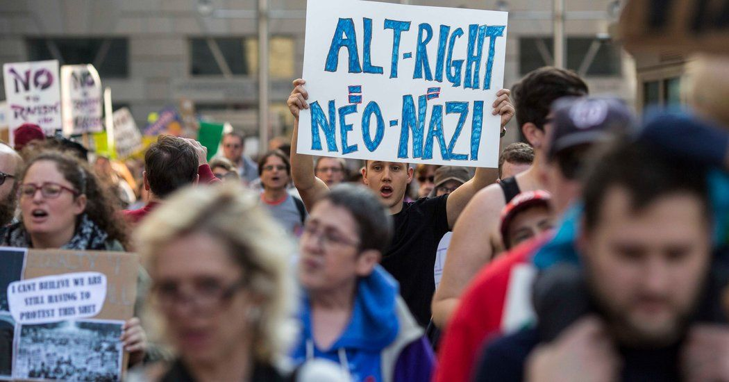 Alt-Right Exults in Donald Trump's Election With a Salute: 'Heil Victory' - The New York Times