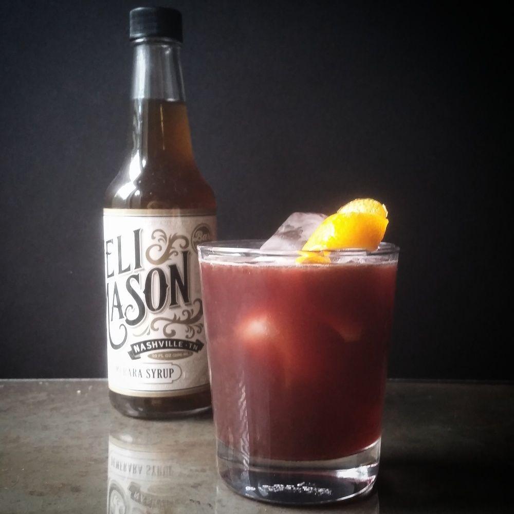 Shaken Rum Sangria Demerara Syrup Rum Recipes Cocktail Syrups