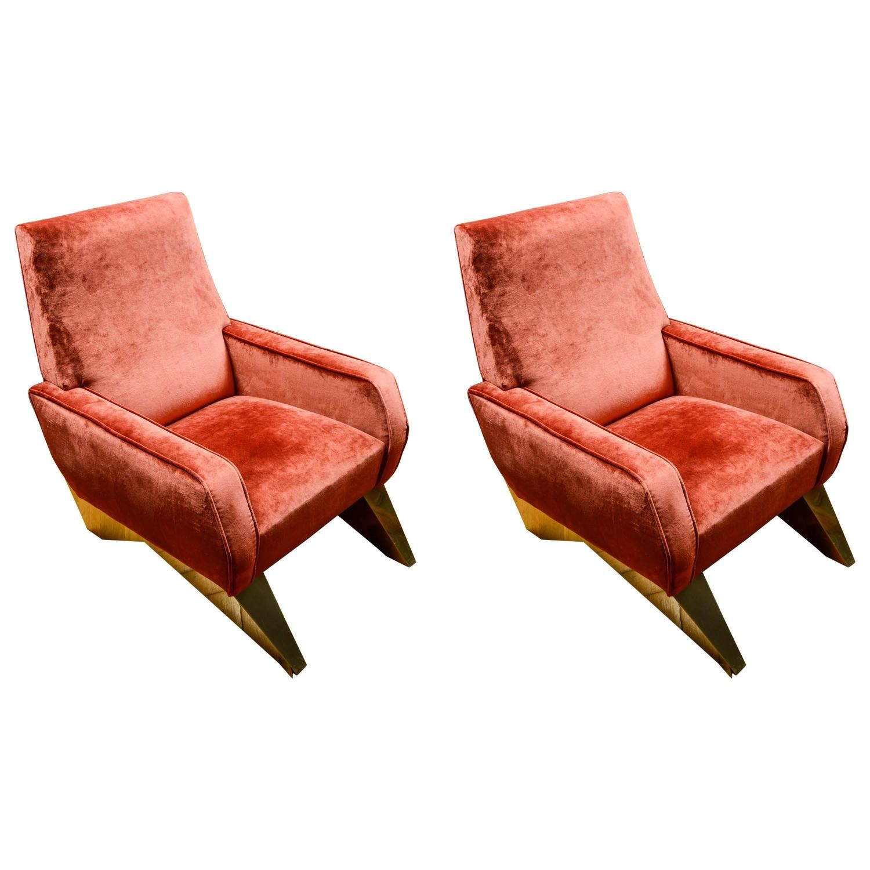 Best Comfortable Pair Of Vintage Armchairs Armchair Modern 400 x 300