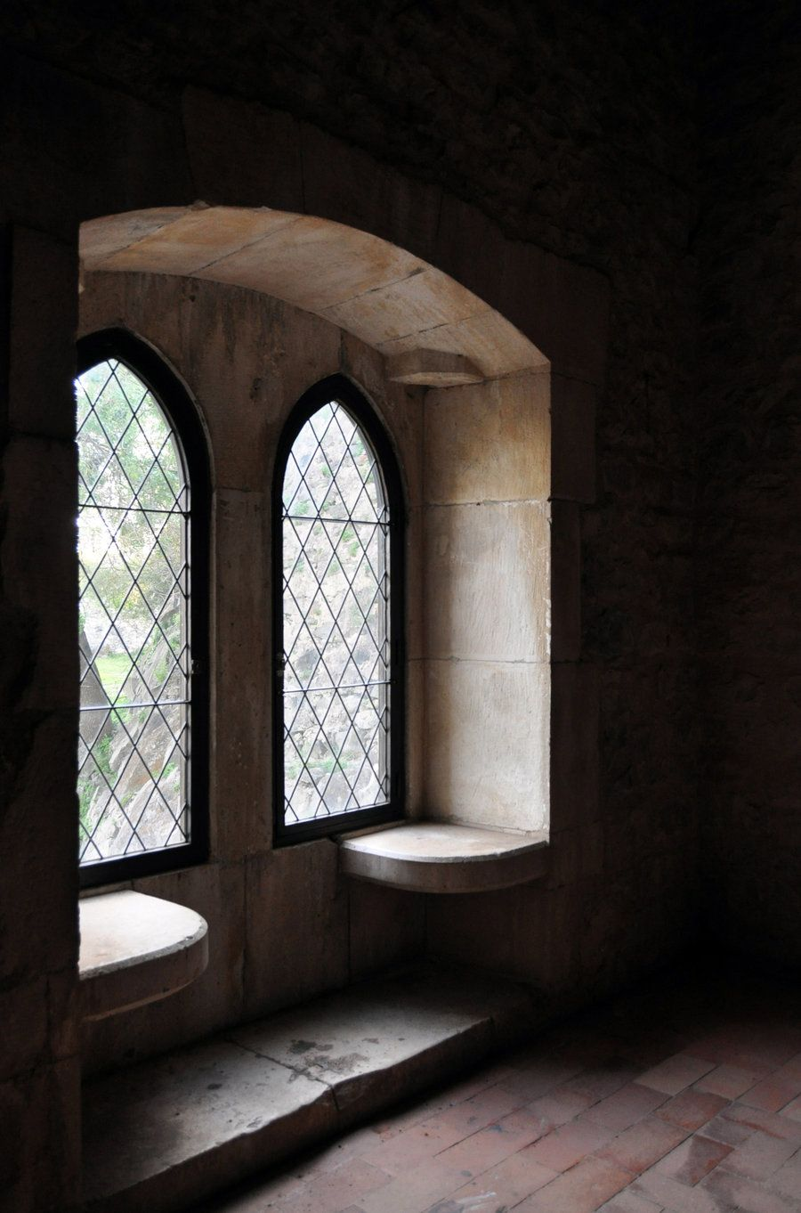 Medieval Castle Interior Window Seat Keys To The