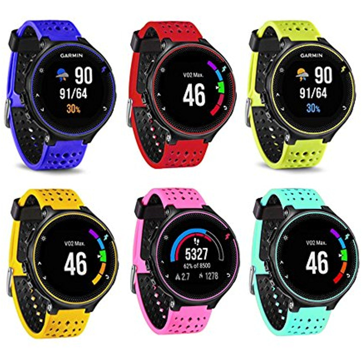 Silicone Replacement Fitness Bands Strap for Garmin Forerunner 220 230 235 620 630 735XT GPS Smart Replacement Band for Garmin Forerunner 220 230 235 620 630 735XT