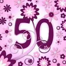 Afbeeldingsresultaat voor verjaardag 50 jaar