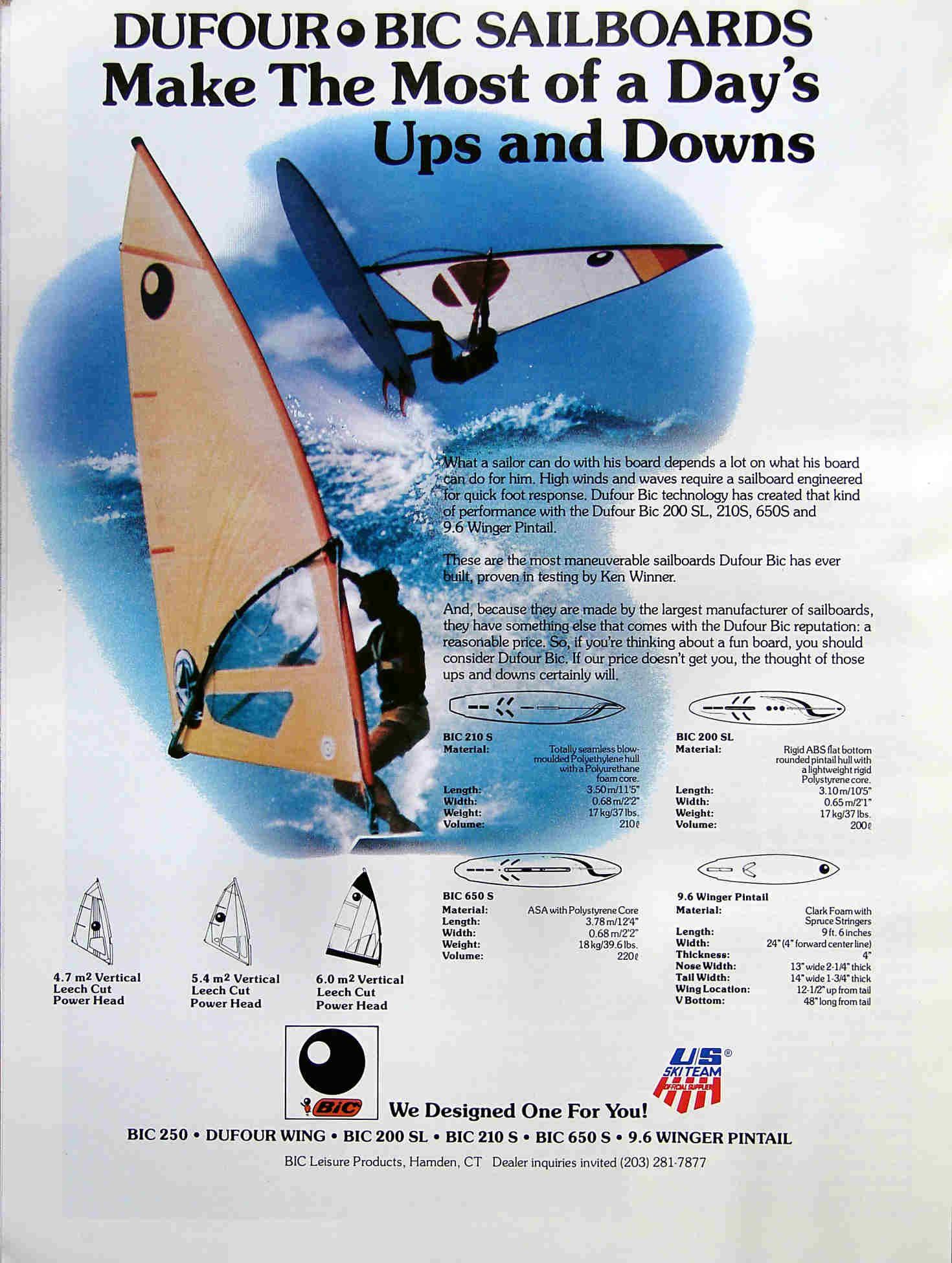 Windsurfing Brochures Ads 80 S Early 2000 S F2 Fanatic Hi Fly Aquata Bic Magnum Tornado Windspeed Part1 Windsurfing Surfing Kite Surfing
