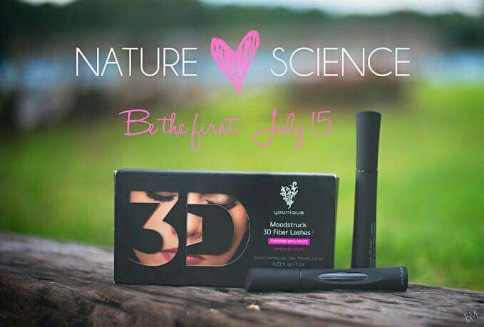 New and enhanced 3D Fiber Lash Mascara +  Order yours July 15th at www.youniqueproducts.com/crystalstubbs